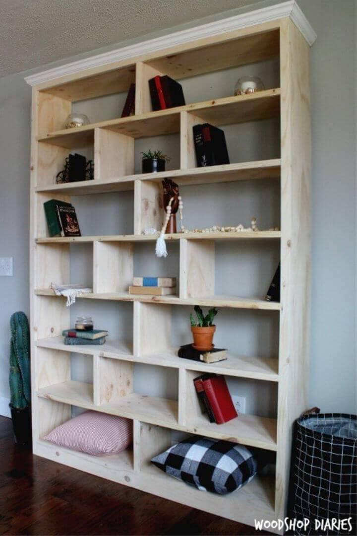 Modern DIY Bookshelf