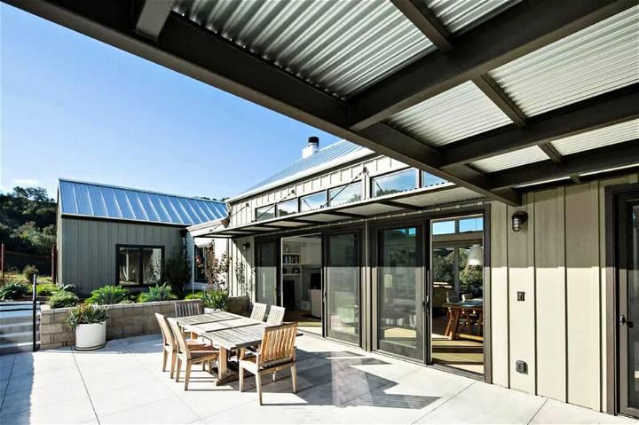 Modern Farmhouse Covered Patio