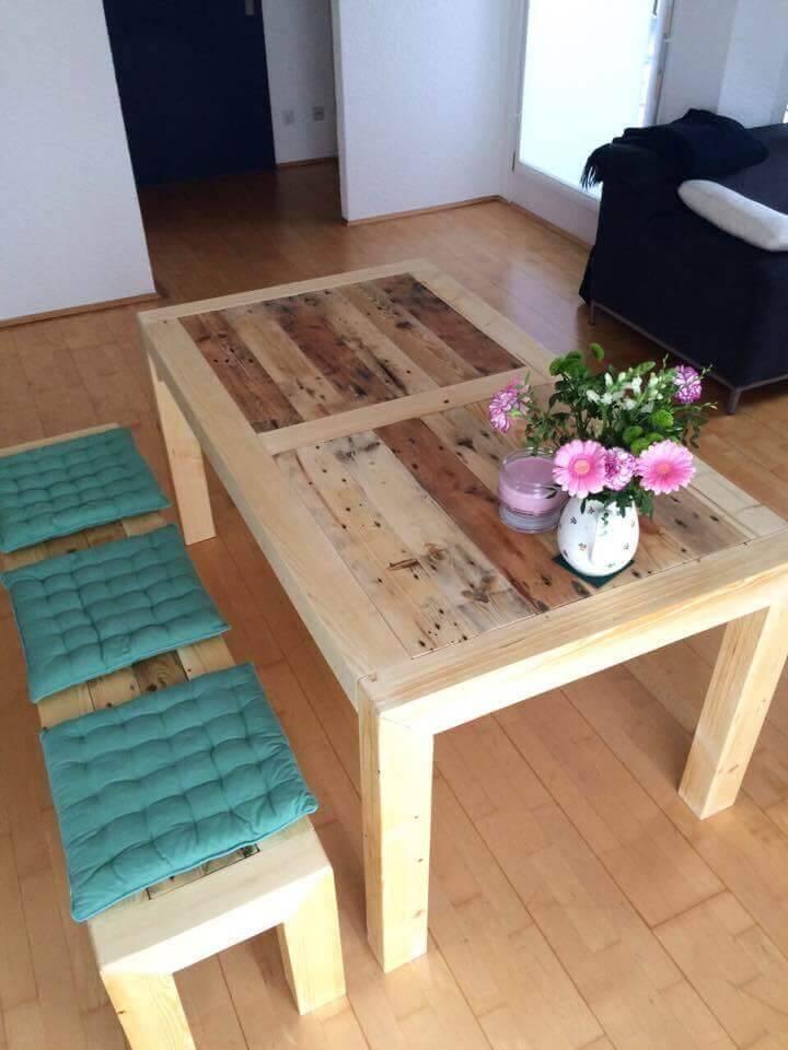 Pallet Breakfast Table