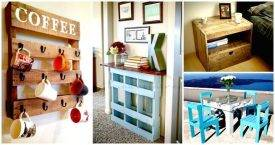 Pallet Furniture Ideas with 25 Complete DIY Projects 1