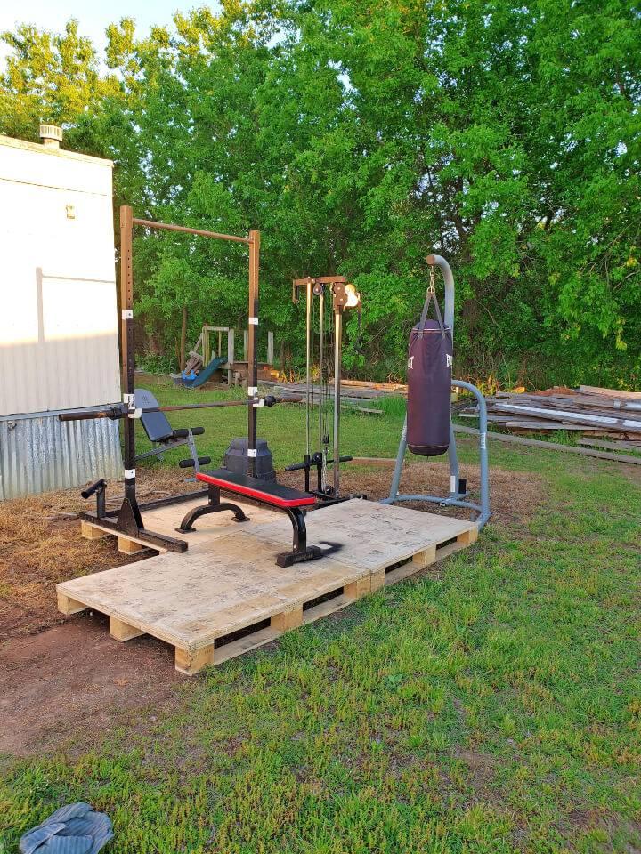 Pallet Gym Station