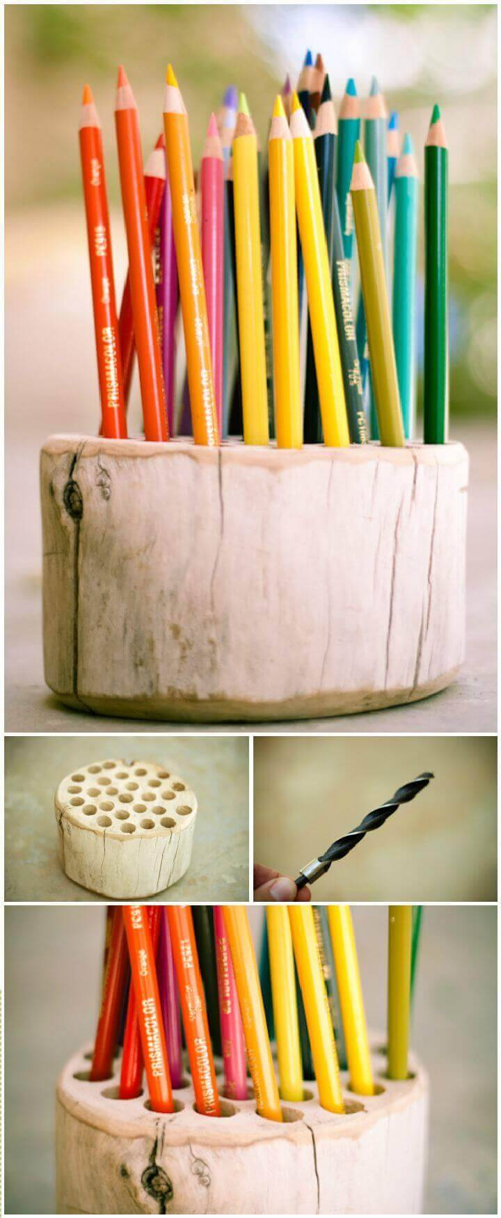 Pencil Holder DIY Ideas
