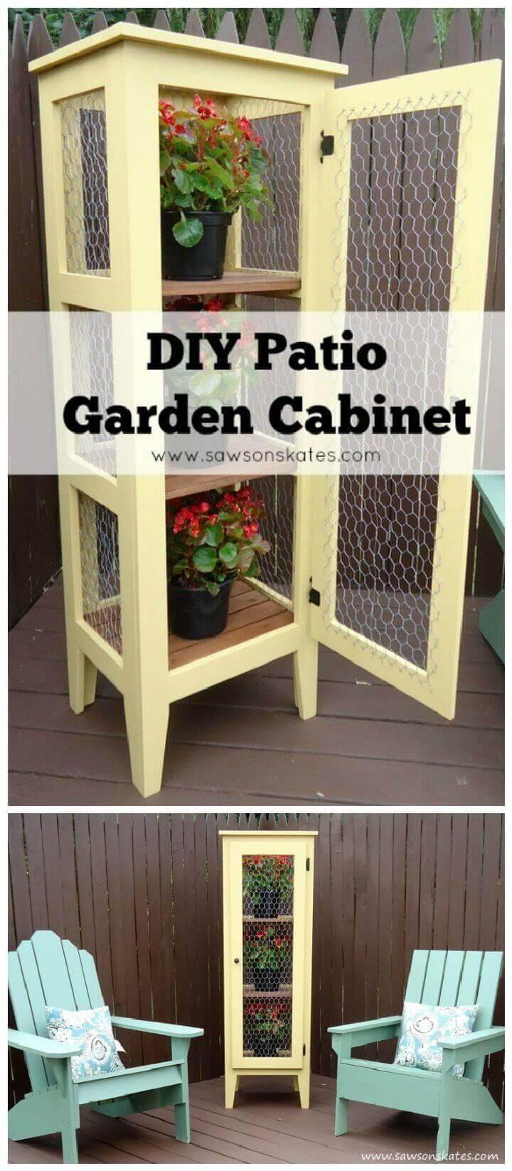 Porch Garden Cabinet