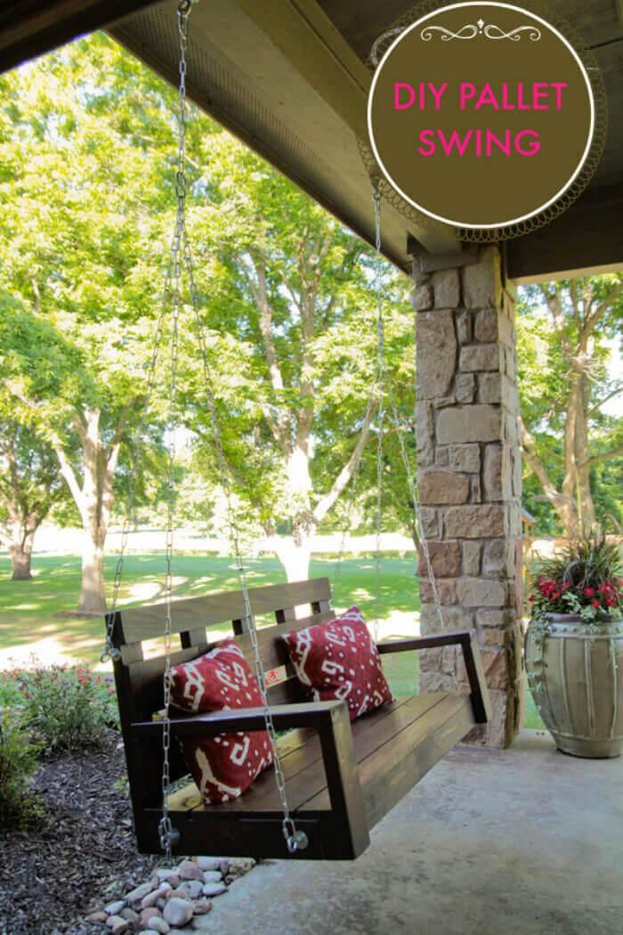 Reclaimed Porch-Swing-DIY