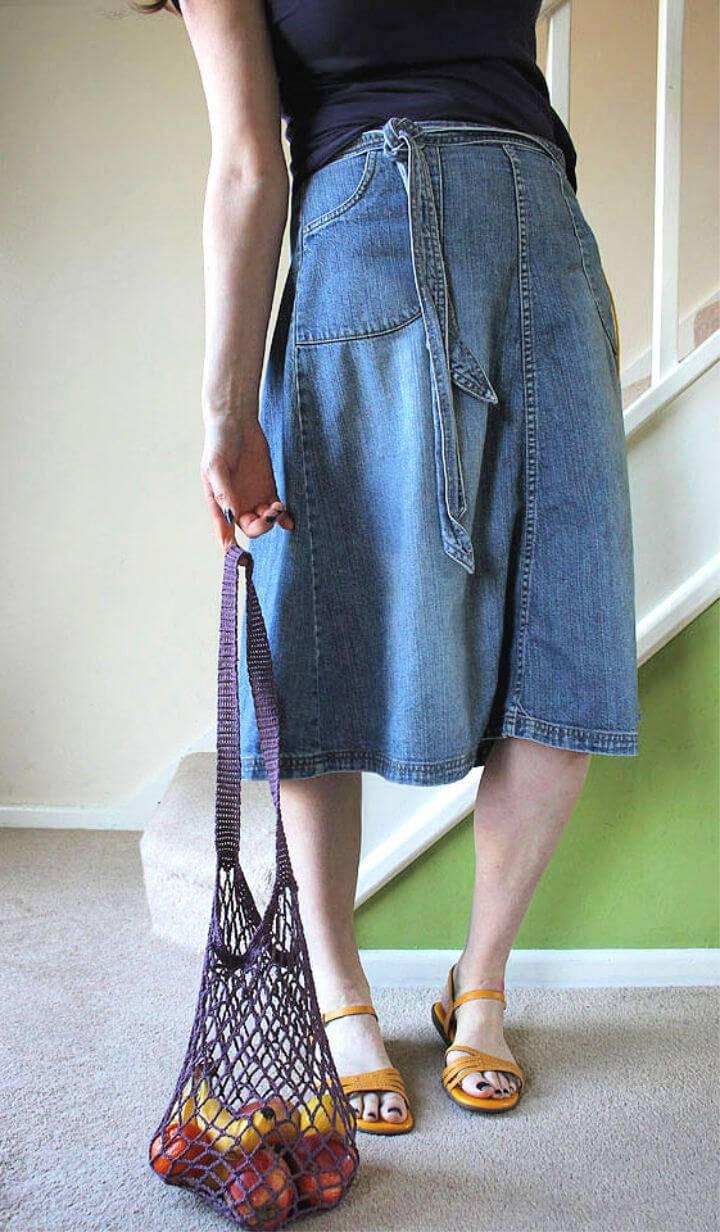 Simply Crochet Market Bag Free Pattern