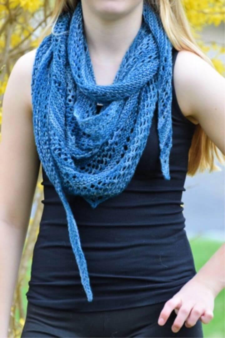 Simply Crochet Pacific Lace Shawl Free Pattern
