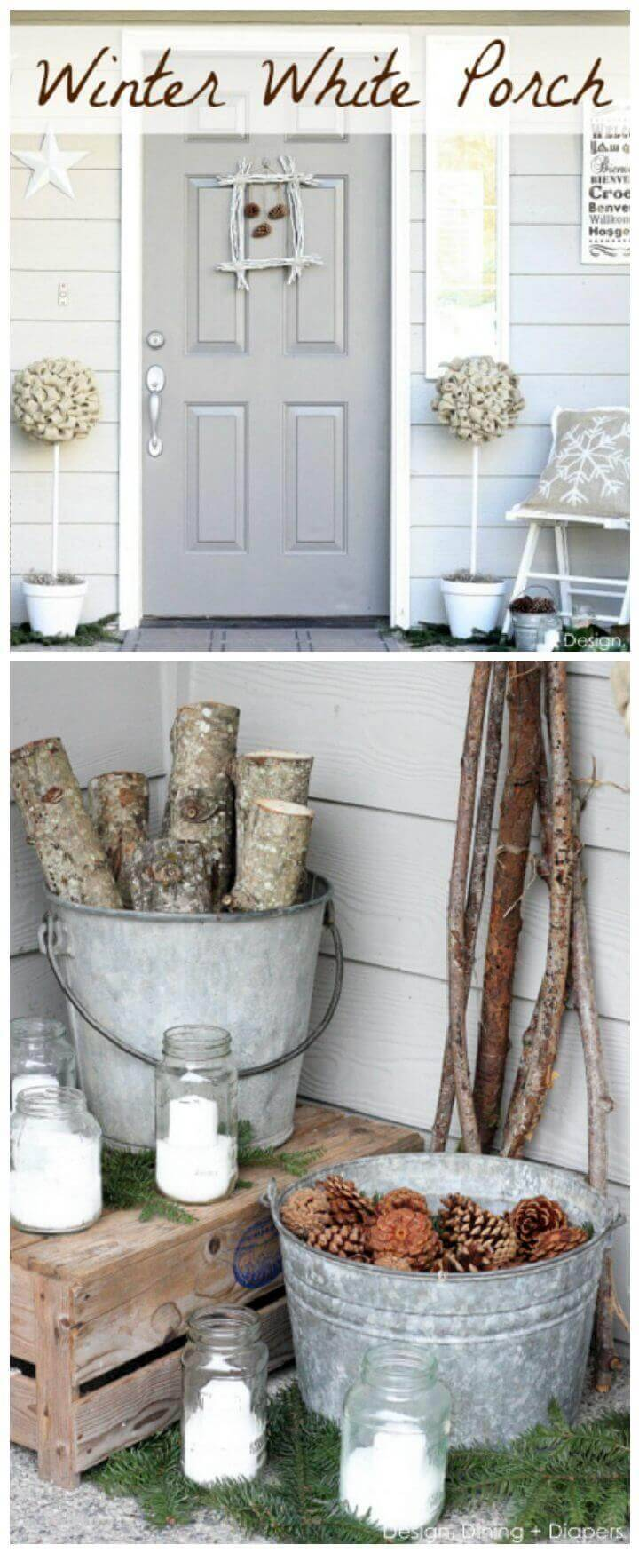 Winter White Porch