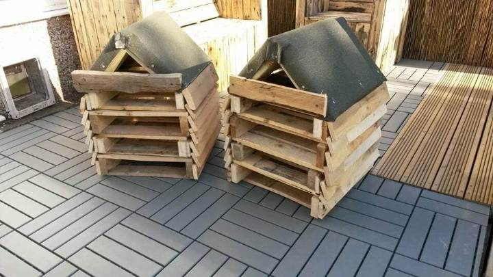 diy pallet bug hotels