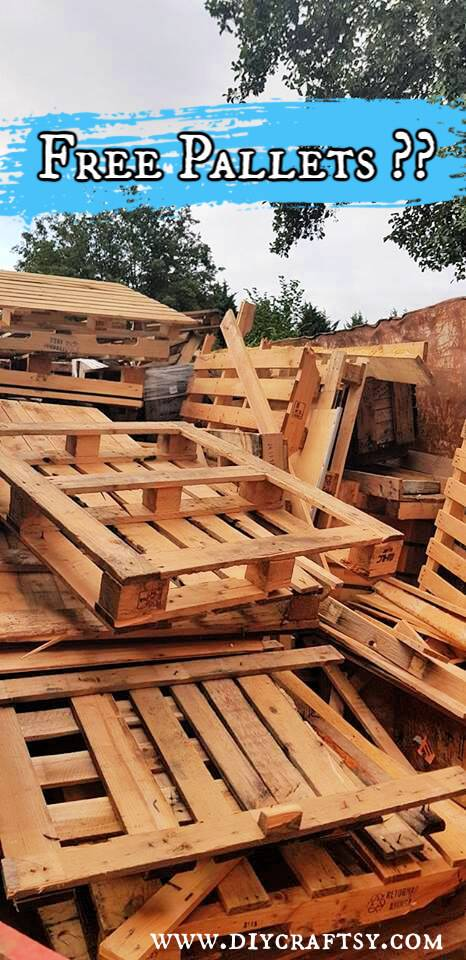 wooden pallets for sale or free