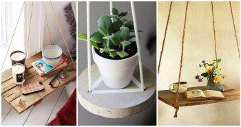 10 Best DIY Hanging Table Ideas