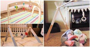 11 Best DIY Wooden Baby Gym Ideas and Plans