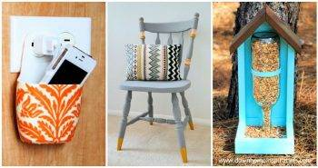 30 DIY Upcycling Ideas To Repurpose Old Stuff into Useful Home Decor