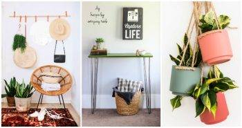 30 Unique DIY Small Entryway Ideas