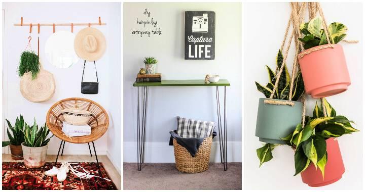 30 Unique DIY Small Entryway Ideas