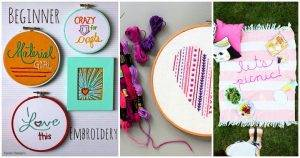 40 Free Embroidery Patterns
