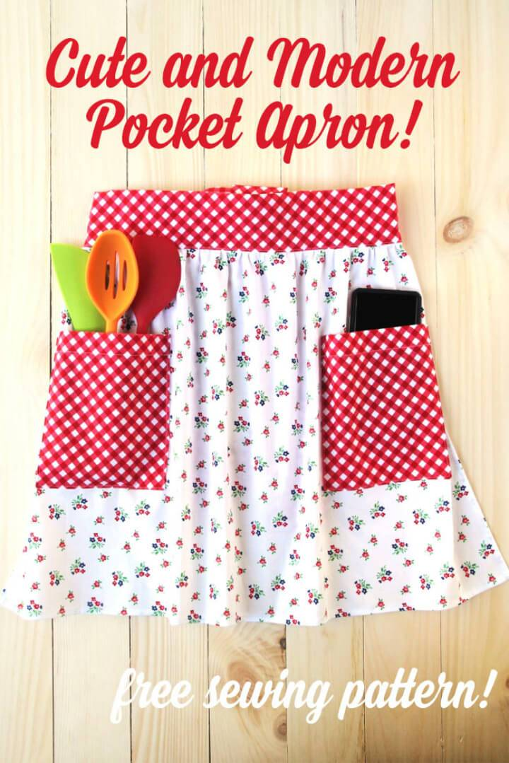A Cute and Modern Pocket Apron