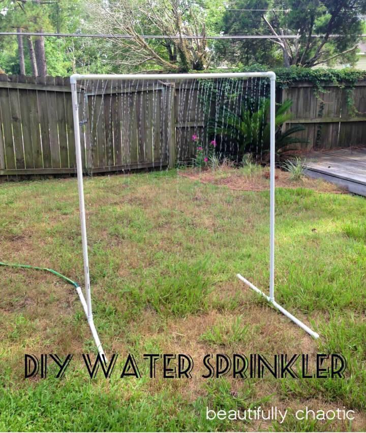 Affordable DIY PVC Water Sprinkler