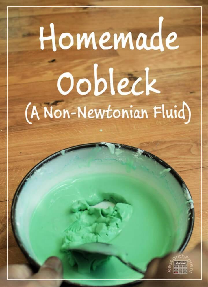 Amazing Homemade Oobleck