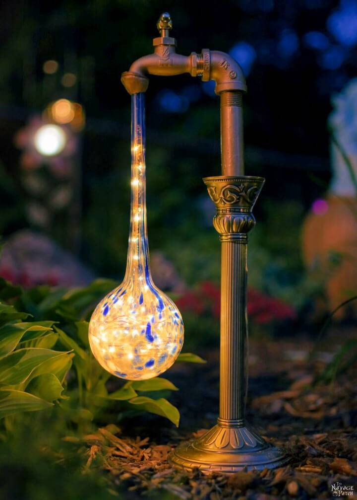 Awesome DIY Waterdrop Solar Lights