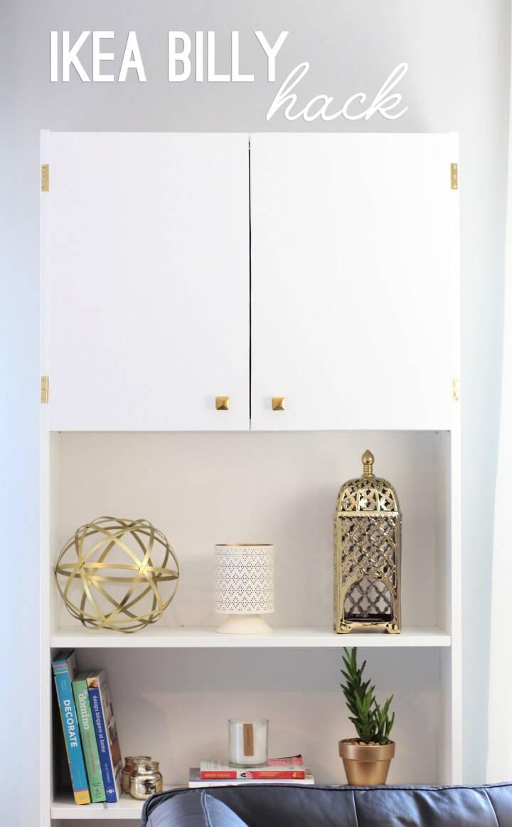 Beautiful Ikea Billy Bookcase Hack