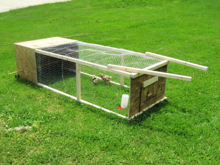Build Your Own Chicken Tractor