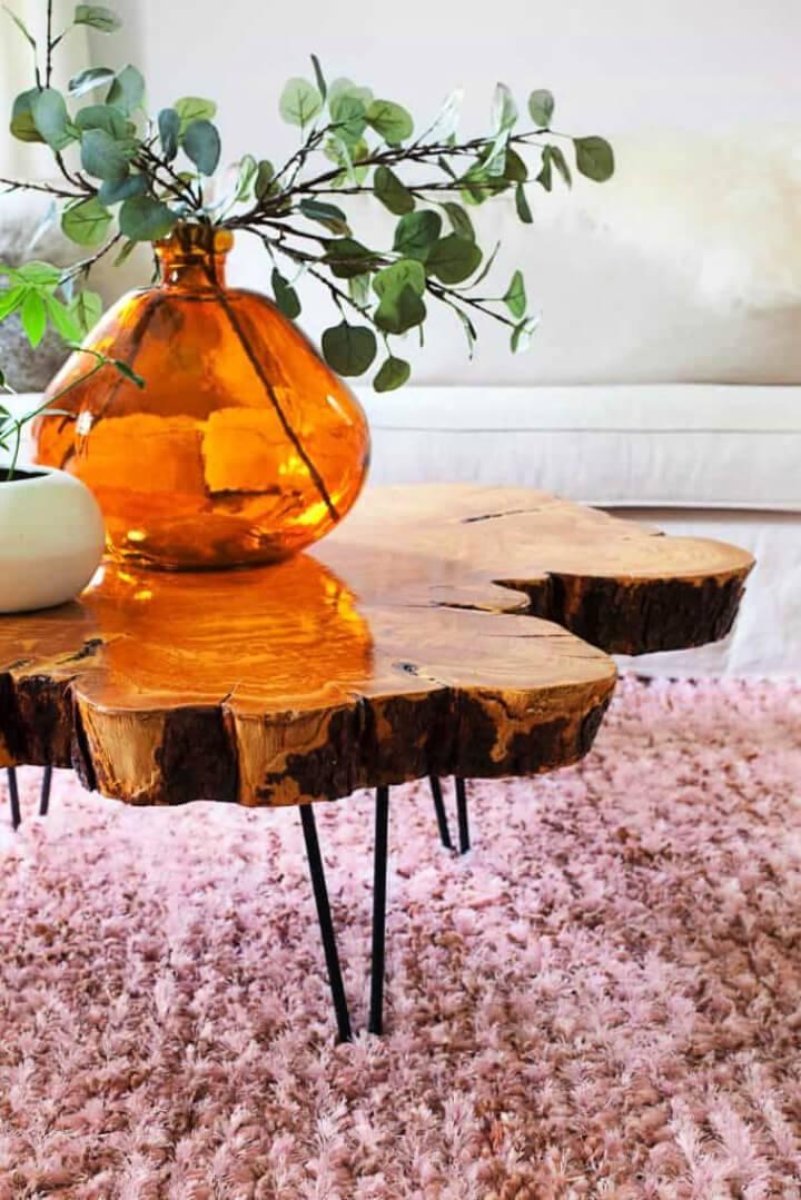 Build a Live Edge Coffee Table