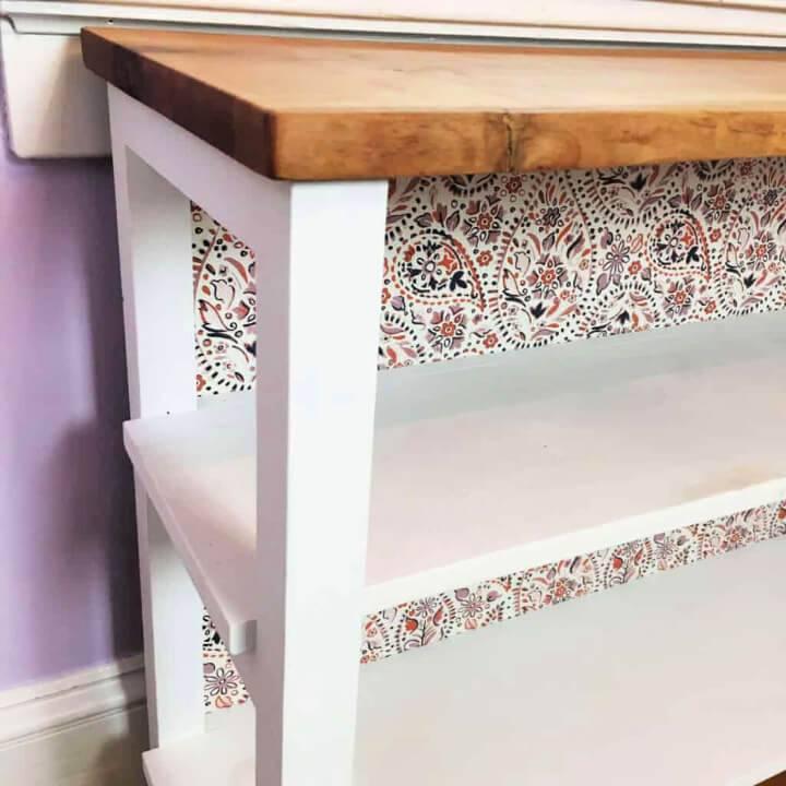 Build a Live Edge Rustic Bookcase