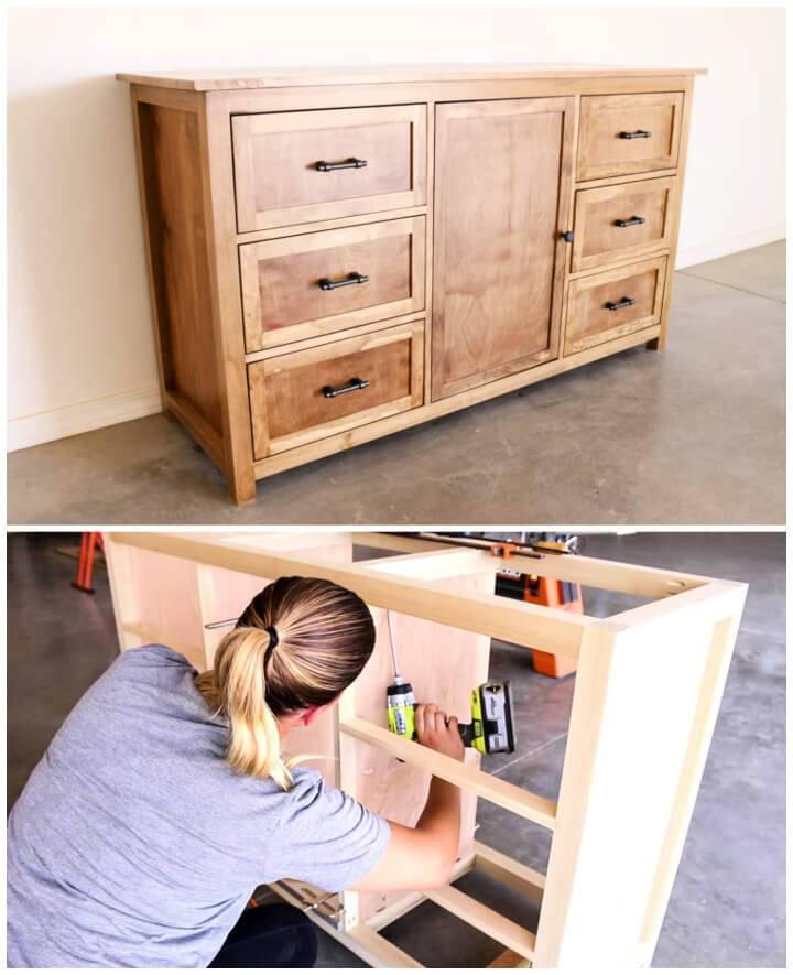 Build a Rustic Dresser Free Building Plans