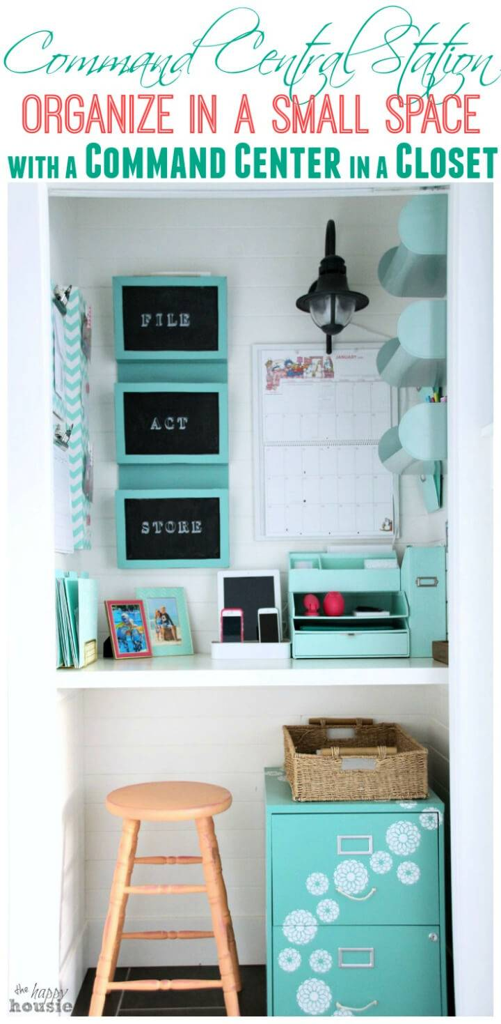 Command Center Station for Small Spaces