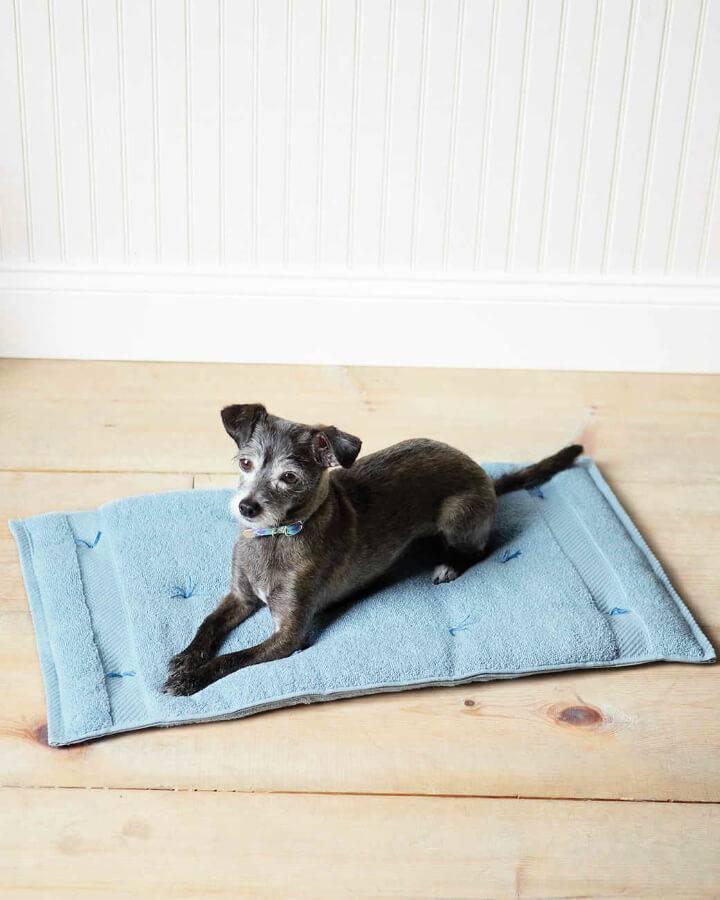 Cozy Travel Cushion Dog Bed