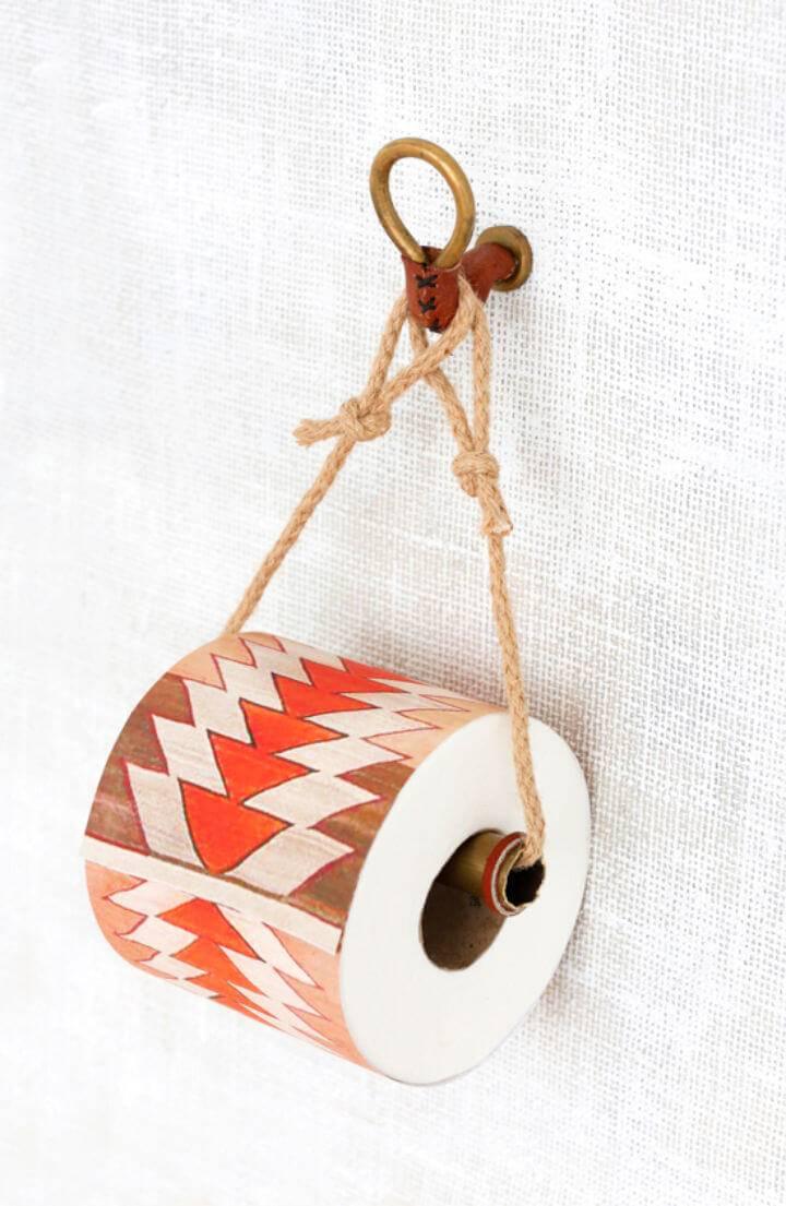 Cute DIY Toilet Paper Holders