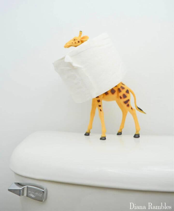 DIY Animal Toilet Paper Holder