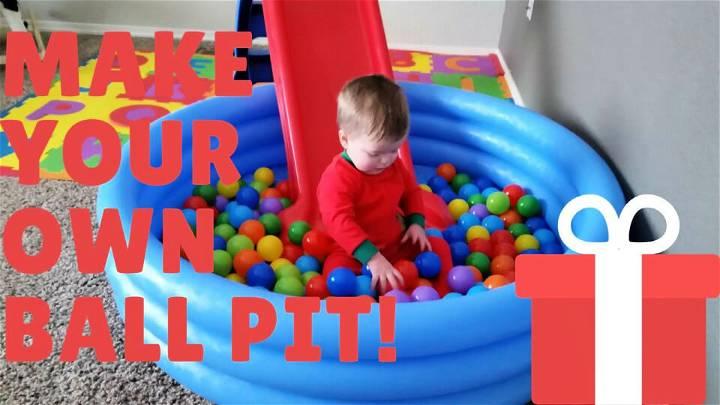 DIY Ball Pit You Can Make For 30 Bucks