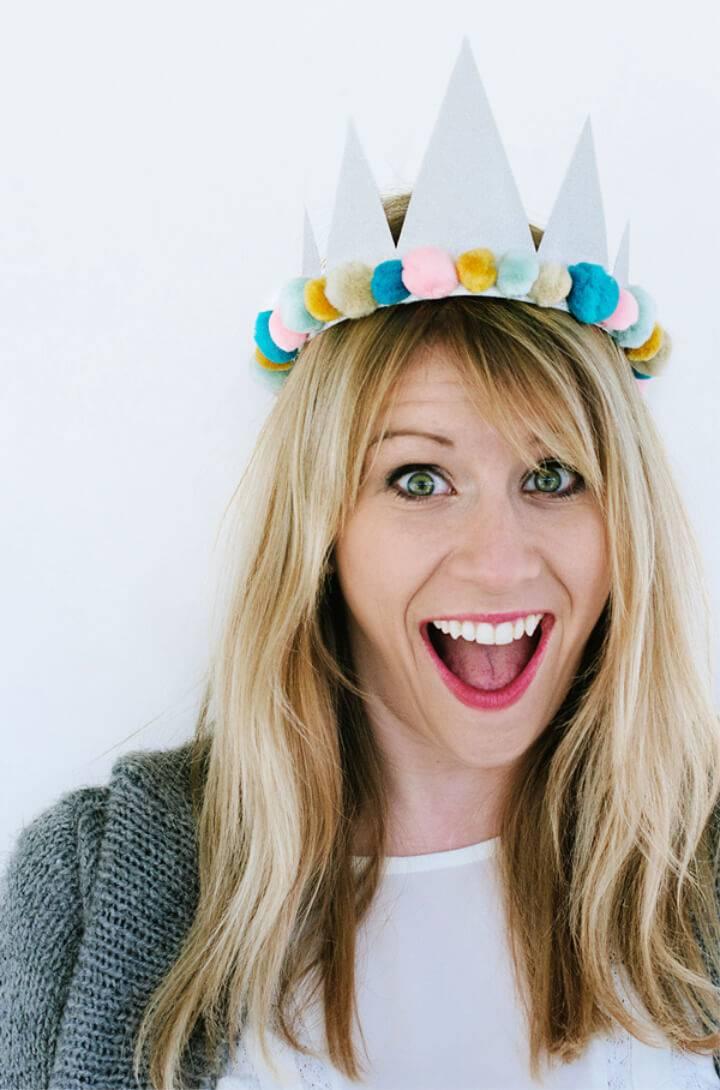 DIY Birthday Paper Crowns