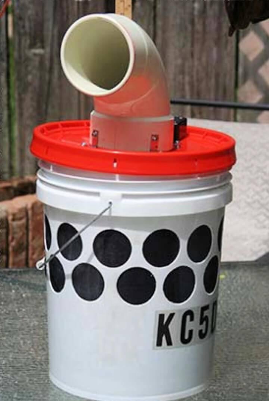 DIY Bucket Swamp Cooler for Camping