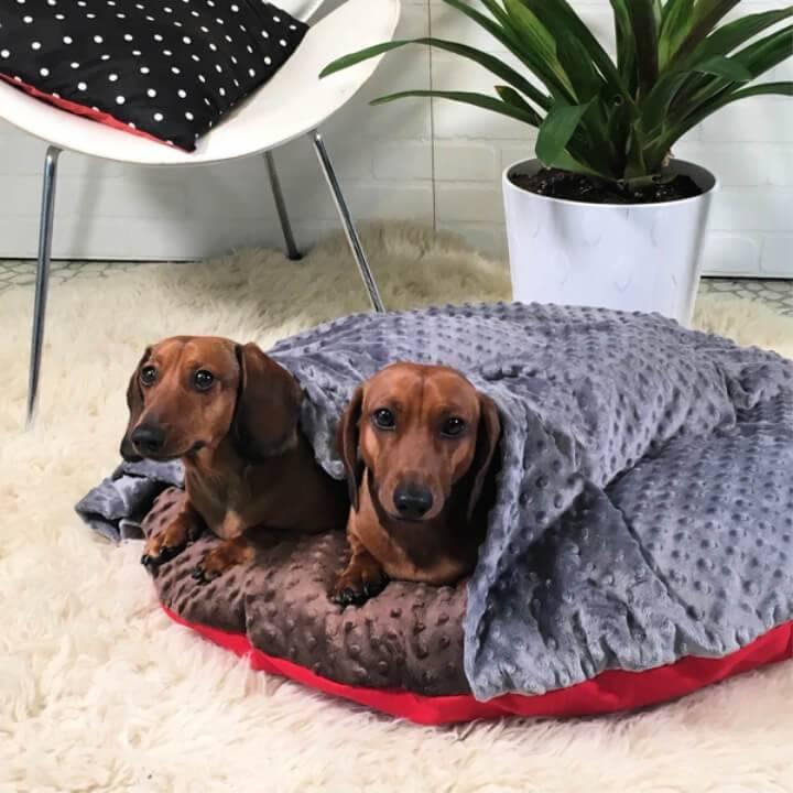 DIY Doggie Donut Dog Bed