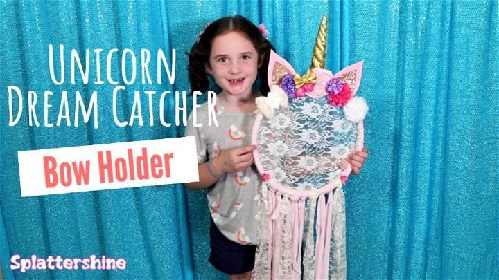 DIY Dreamcatchers Unicorn Room Decor