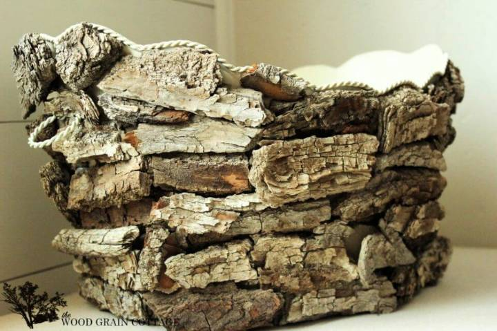 DIY Driftwood Basket