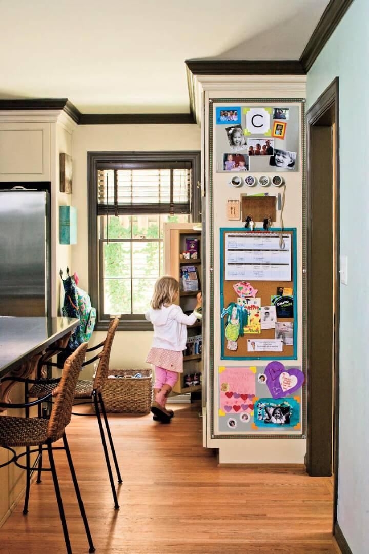 DIY Family Home Command Center