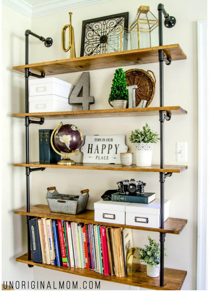 Fixer Upper Pipe Shelving