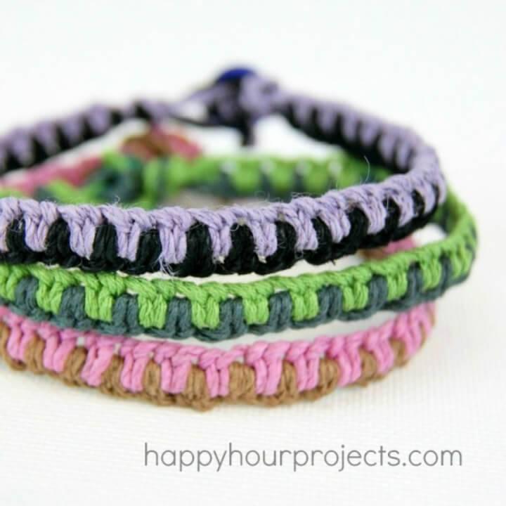 DIY Macrame Friendship Bracelets