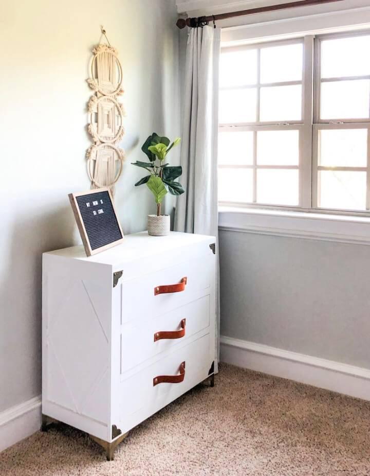 DIY Modern Chic Dresser