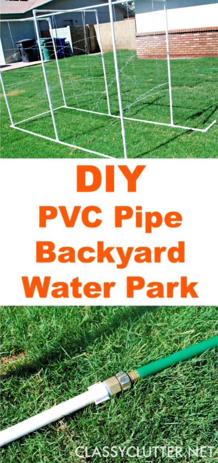 DIY PVC Backyard Water Park