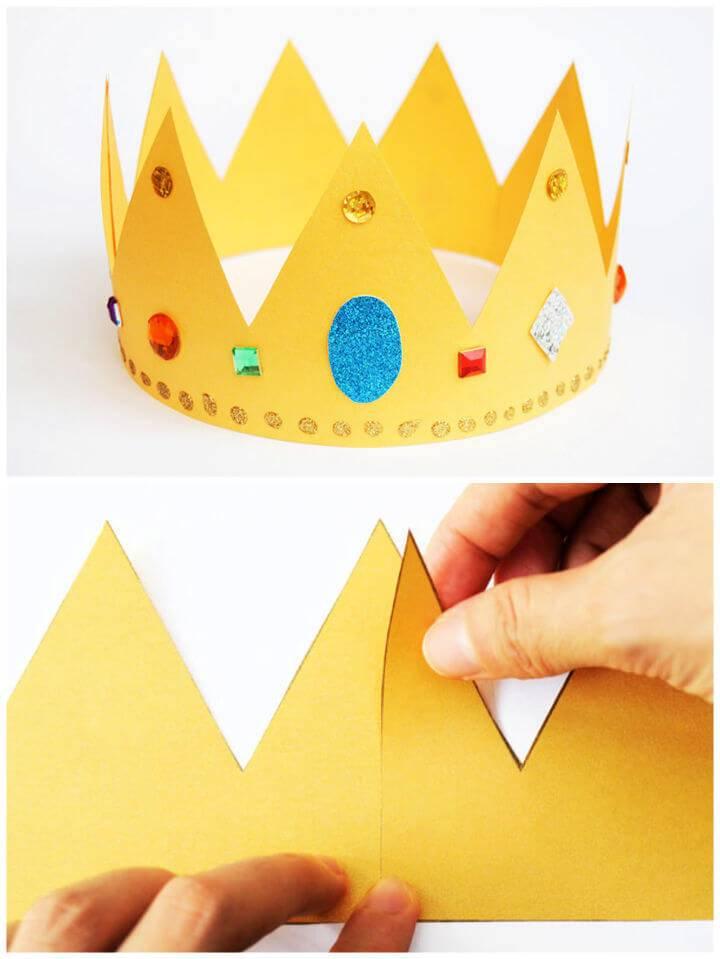 DIY Paper Crowns