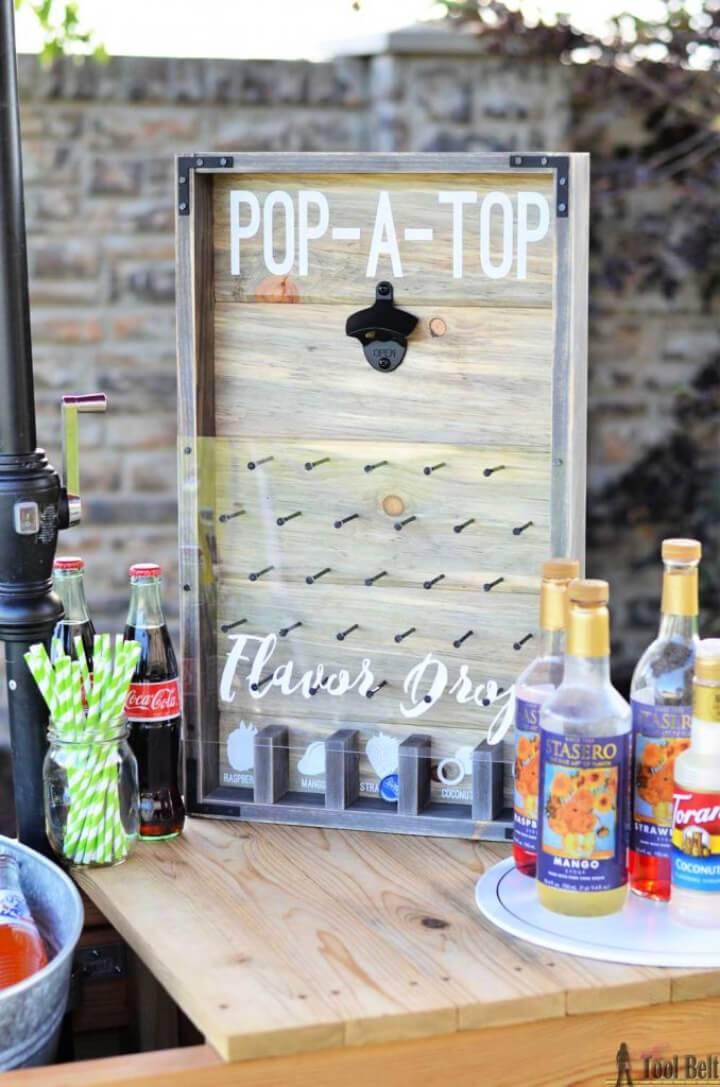 DIY Plinko Board Bottle Opener Game