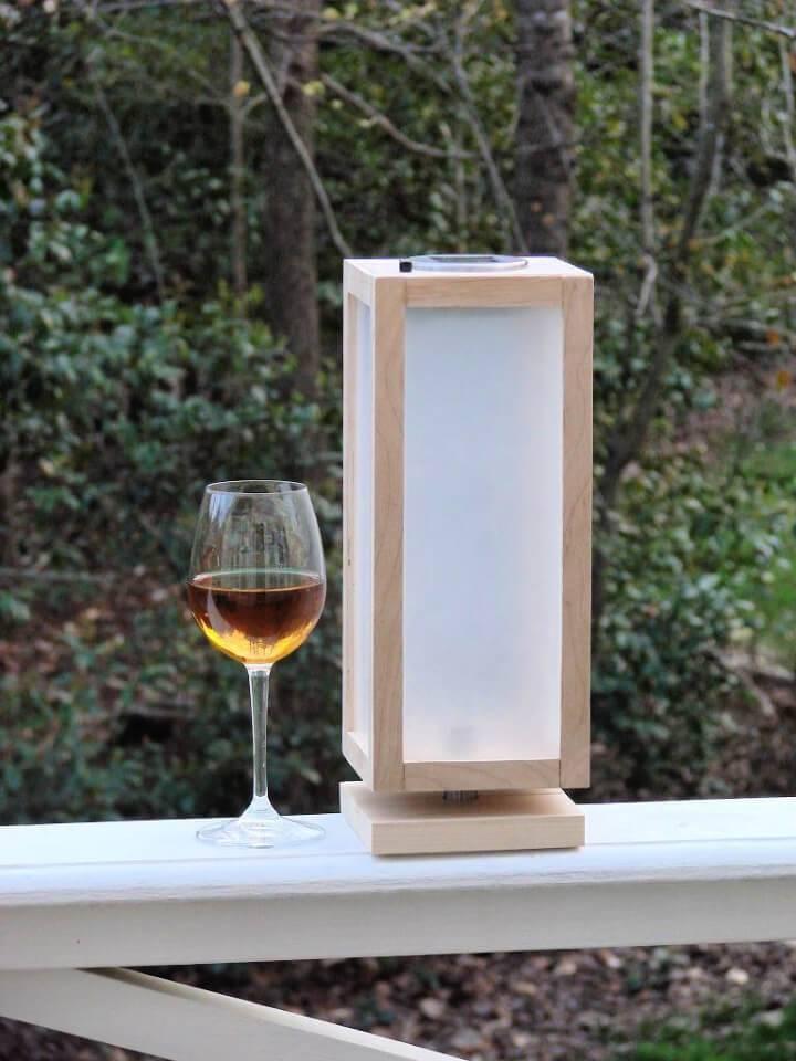 DIY Shoji Style Solar Lamp
