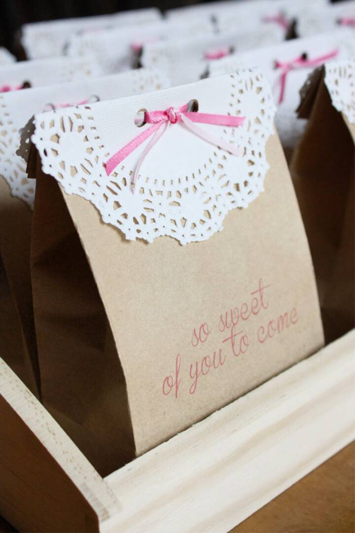 DIY So Sweet Favor Bags