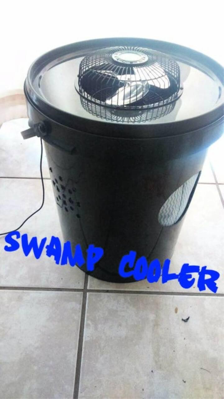 DIY Swamp Cooler Using a Bucket