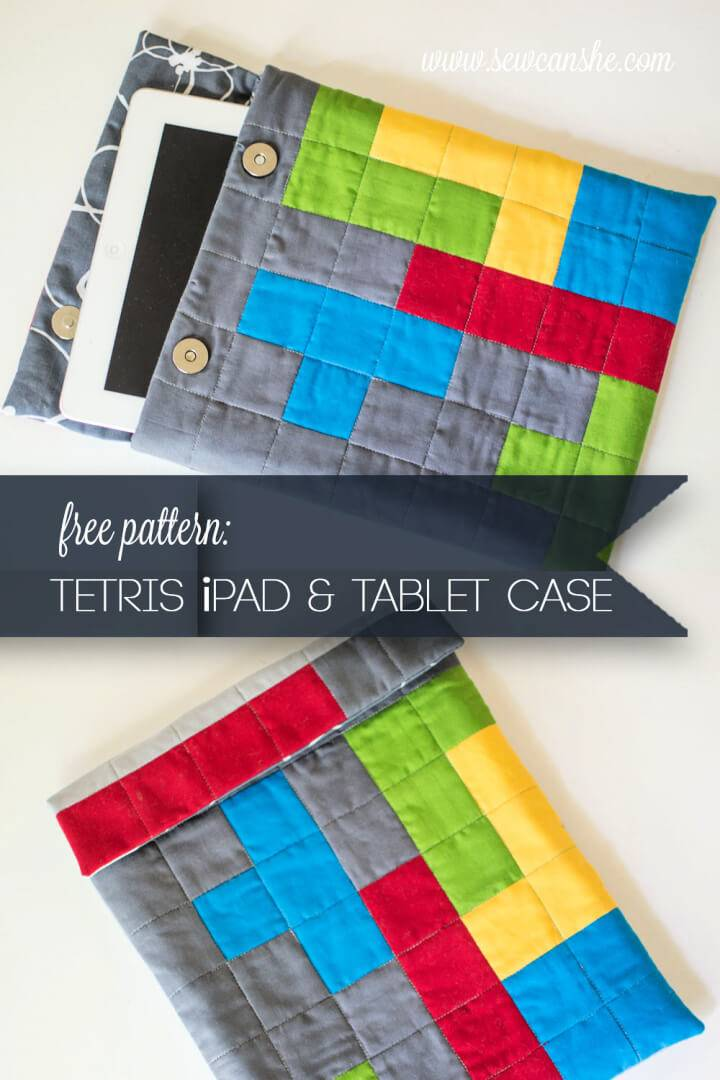DIY Tetris Themed Tablet Case