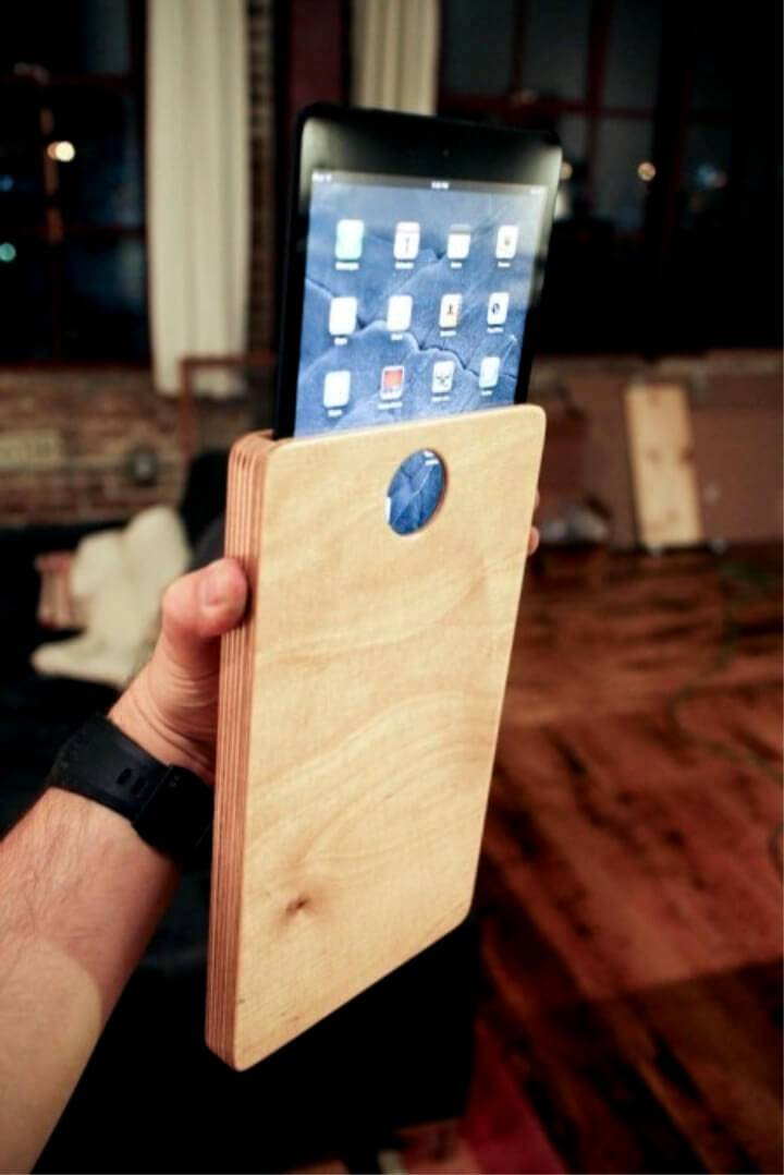 DIY Wooden Ipad or Tablet Case